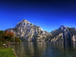 Lake at Austrian Alps
