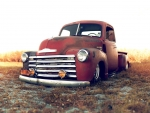 old chevrolet pick up truck