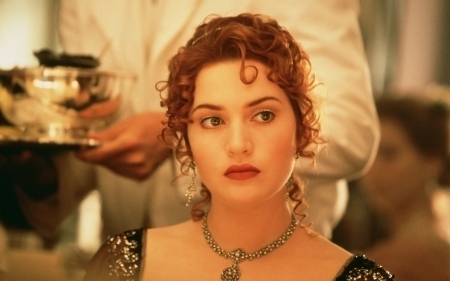 Titanic (1997) - actress, girl, rose, Kate Winslet, woman, titanic, jewel, redhead