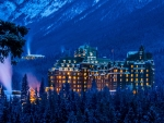 Banff Springs Hotel, Lake Louise, Alberta