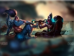 Yasuo and Ekko Background