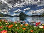 Springtime In Lugano Switzerland