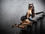 Sexy Woman in Catwoman