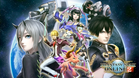 PHANTASY STAR ONLINE 2 - Video Game, PC, PSO2es, PS4, PS3, PHANTASY STAR ONLINE 2, SEGA, PS Vita, PSO2, GAME