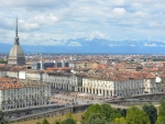 panoramic view of turin italy