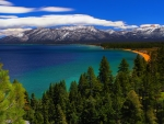 Panoramic View Lake Tahoe