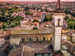 church of santa croce in vinci tuscany hdr