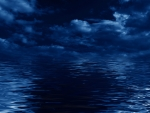 Dark Sea Blue Night