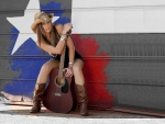 Cowgirl Musician..