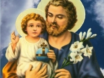 Jesus and Saint Joseph
