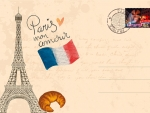 Greeting Card from Paris