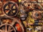 Steampunk Gears and Chains