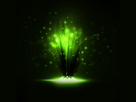 Neon Green Explosion