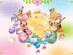 mickey mouse & friends happy easter