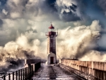 Lighthouse in Bad Weather F1Cmp