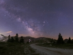 Milky Way and Planets Near Opposition