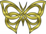 Celtic Butterfly Pattern