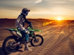 kawasaki dirt bike