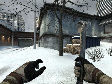 Counter Strike: Source - game, video game, Source, snow, Counter Strike, gaming, Office Map, CS Source, CS