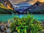 Lake Louise in Summer, Canada