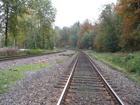 Way of Life - railway, autumn