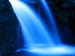 Blue Waterfall!