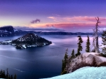 Crater Lake Panorama F