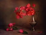 Still life with bougainvillea