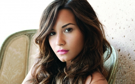 Demi Lovato - actress, Demi Lavato, lady, woman, model, babe, singer, American