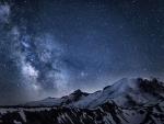 Milky Way Over Mt. Ranier F2C