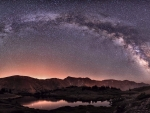 Milky Way Over Colorado Rockies 1