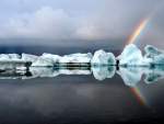 Icebergs and Rainbow