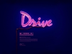 DRIVE NEON POSTER