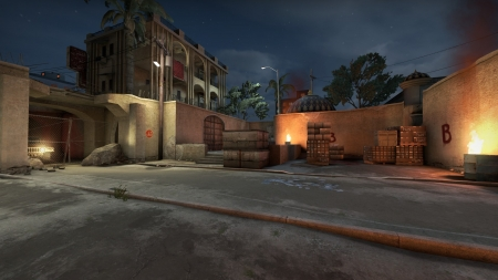 Counter Strike - Global Offensive - Video Game, Dust II Map, Dust, Map, Global Offensive, Counter Strike