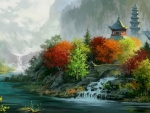 Chinese Autumn Painting