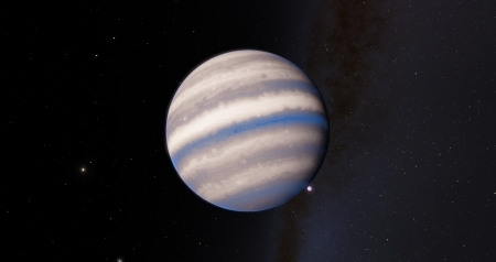 Gas Giant - SpaceEngine, Planets, Gas, Moons, Moon, Planet, Space