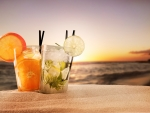 Exotic Summer Drinks
