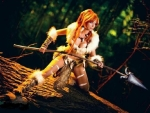 Warrior girl'.....