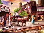 Western Town F