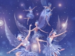 Fairies dancing