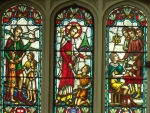 Stained glass window for Jesus