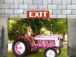Her Pink Tractor..