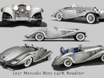 1937 Mercedes Benz 540K Roadster
