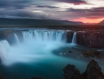 Godafoss Waterfalls Iceland