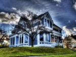 victorian house hdr