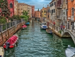 venice canal hdr