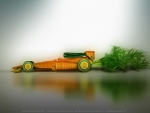 vegetable formula one car