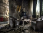 dirty abandoned apartment hdr