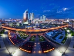 panorama of astana kazakhstan