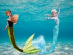 Anna and Elsa - Mermaids